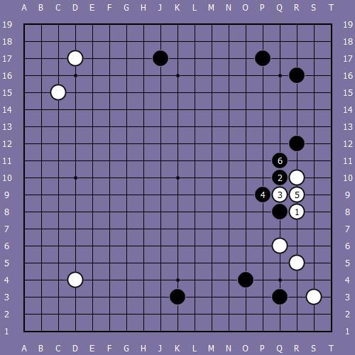 Le fuseki de shusaku 5 Shusak56