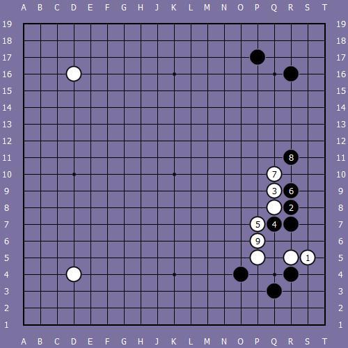 Le fuseki de shusaku 7 Shusak71