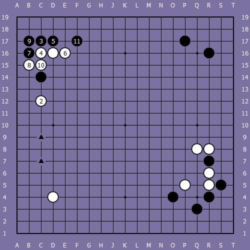 Le fuseki de shusaku 7 Shusak73