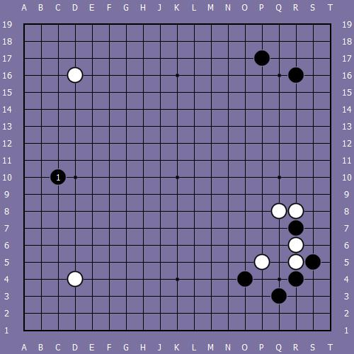 Le fuseki de shusaku 7 Shusak74