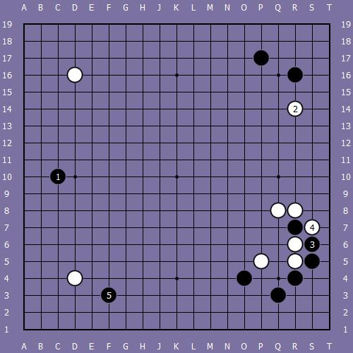 Le fuseki de shusaku 7 Shusak76