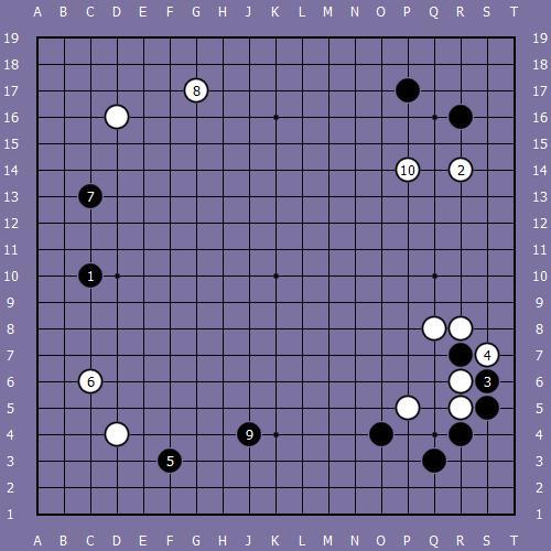 Le fuseki de shusaku 7 Shusak78