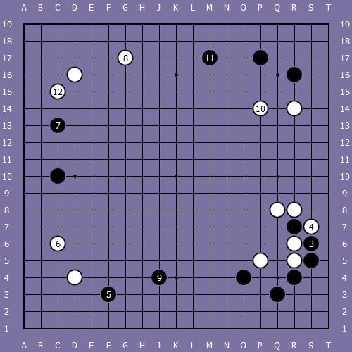 Le fuseki de shusaku 7 Shusak80