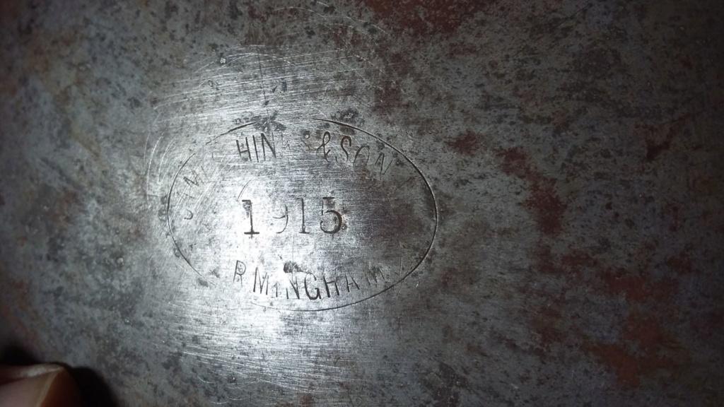 Gamelle de cavalerie Britannique WW1 44455811