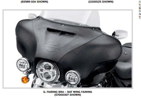 recherche pour street glide spécial batwing fairing 10hd10