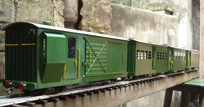 brass EIR Luggage cum Guards Van in 1:19 Ng_8wh10