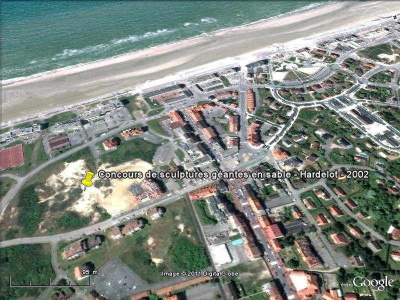 STREET VIEW : concours de châteaux de sable Sondervig Danemark Hardel10