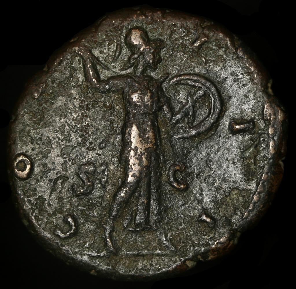 As Marc Aurèle R/ COS III S C Minerve avec lance et bouclier Img_0110