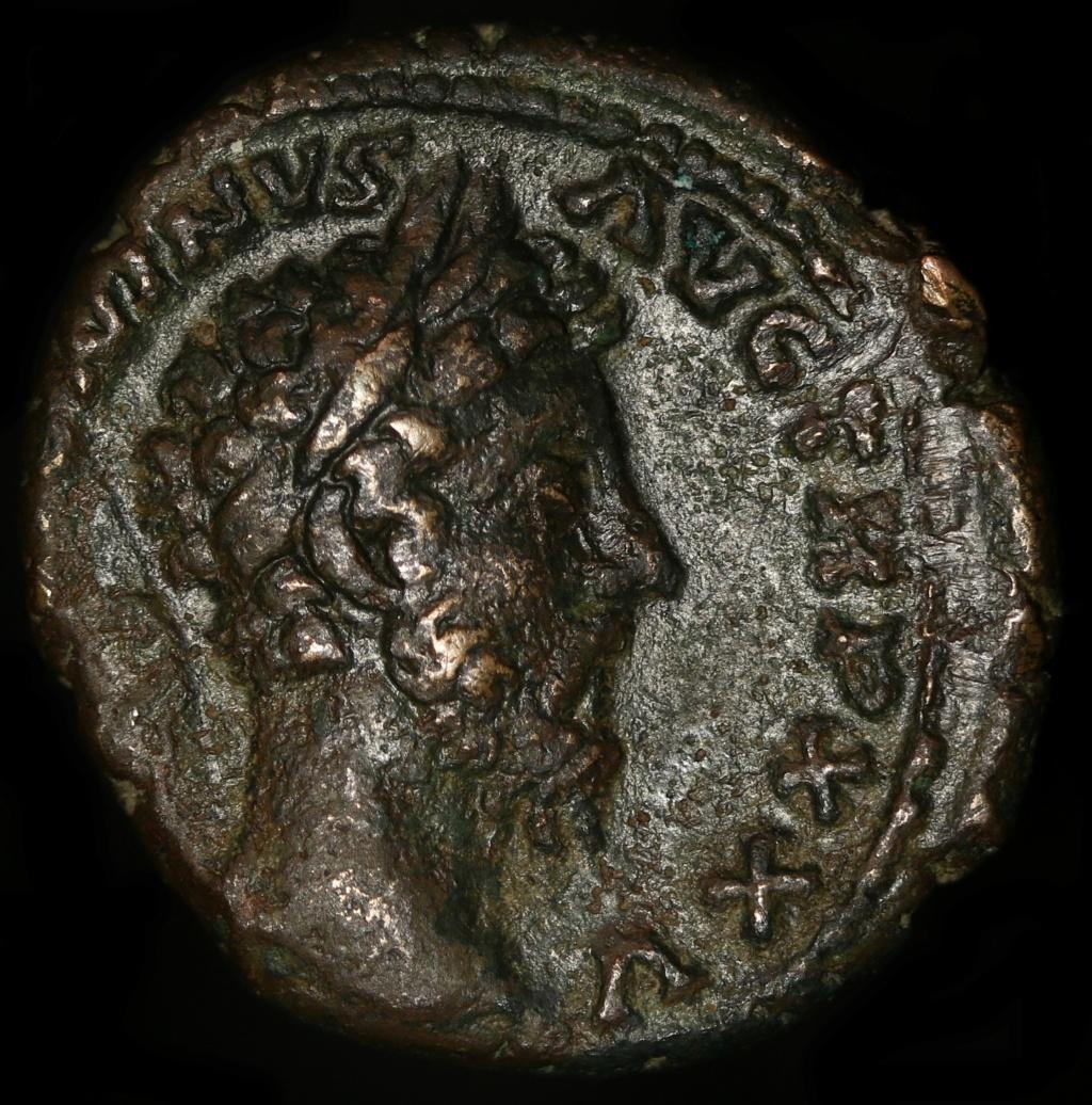 As Marc Aurèle R/ COS III S C Minerve avec lance et bouclier Img_0111