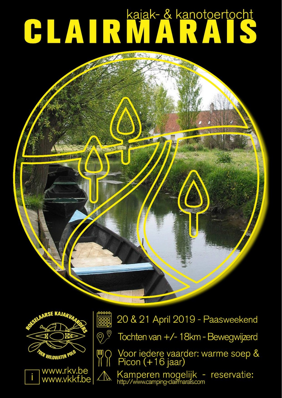 20-21 avril 2019 Balade à Clarmarais Affich10