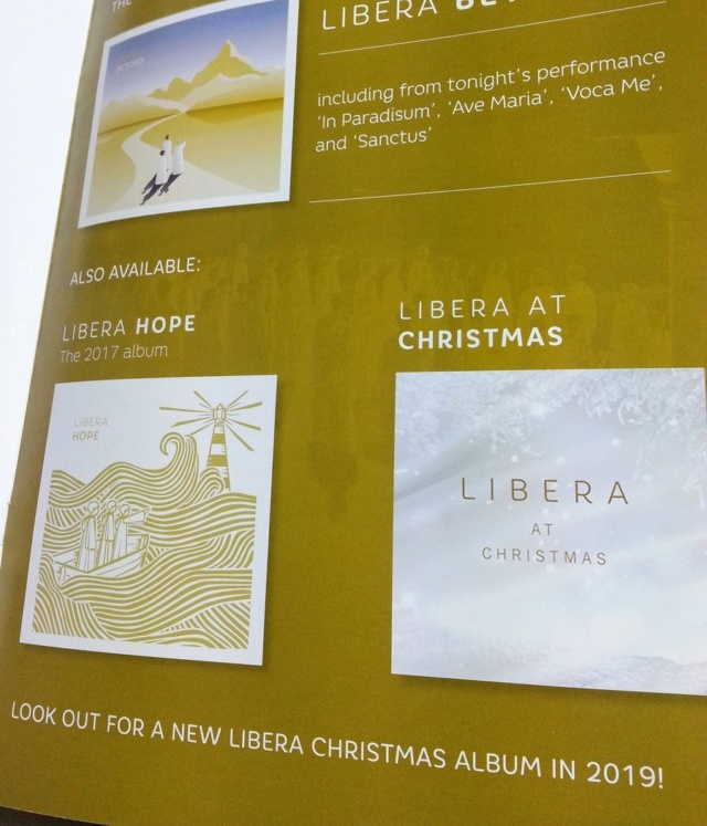 [CD] Christmas Carols with Libera / Christmas with Libera (2019) Dut4sp10