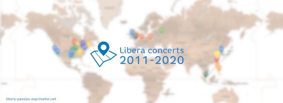 La cartographie des concerts Map_2013