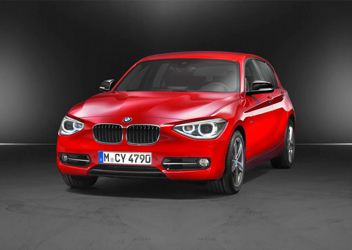 BMW 1 Series F20 5 doors sports hatch 2012 F20_110