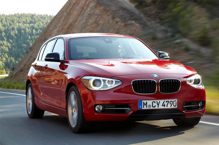 BMW 1 Series F20 5 doors sports hatch 2012 F20_610