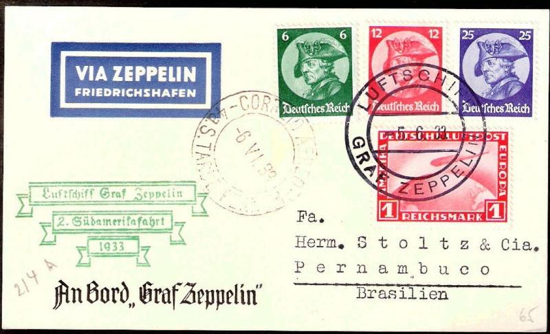 Zeppelinpost des LZ 127 - Seite 2 2sa19310