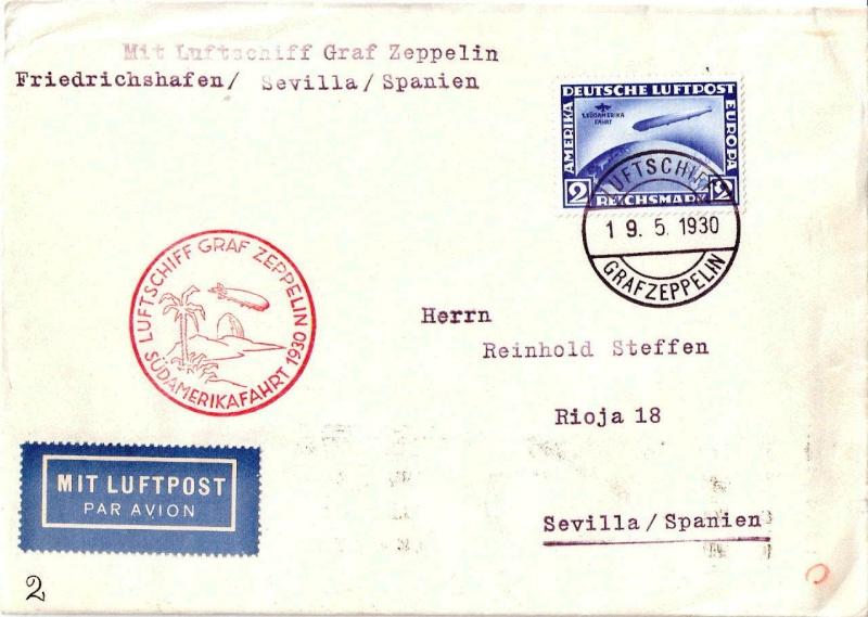 Zeppelinpost des LZ 127 - Seite 3 57a10