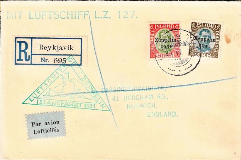 Zeppelinpost des LZ 127 - Seite 3 Island12