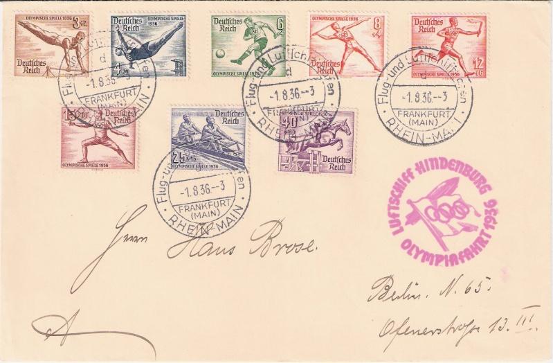 LZ 129 Hindenburg und Olympia 1936 Scann148