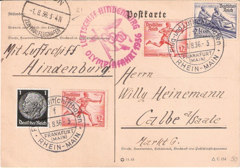 LZ 129 Hindenburg und Olympia 1936 Scann151