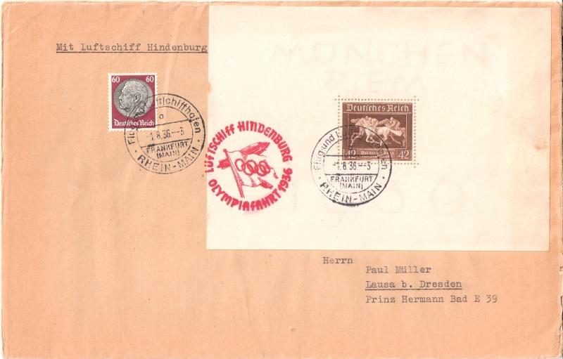 LZ 129 Hindenburg und Olympia 1936 Scann156
