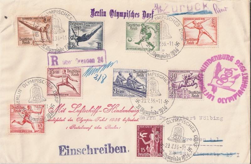 LZ 129 Hindenburg und Olympia 1936 Scann157