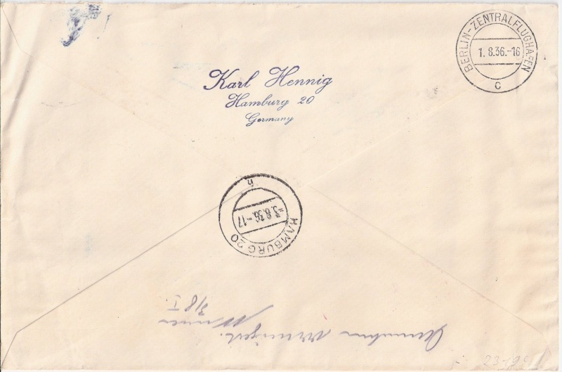 LZ 129 Hindenburg und Olympia 1936 Scann158