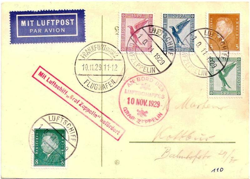 Zeppelinpost des LZ 127 - Seite 2 Scanne11