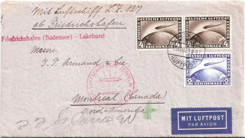 Zeppelinpost des LZ 127 - Seite 4 Scanne38