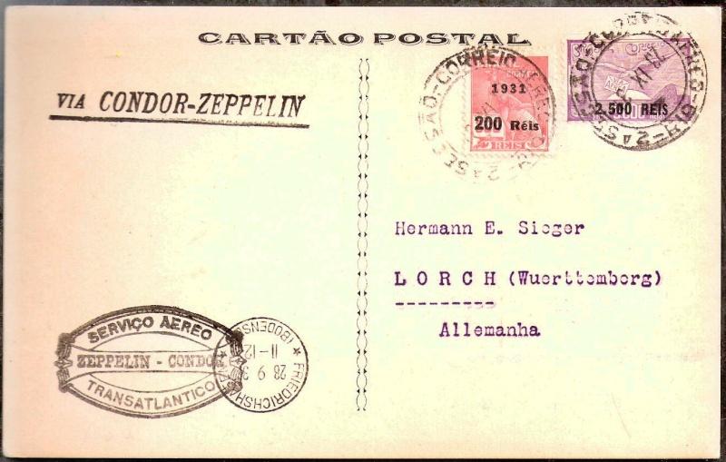 Zeppelinpost des LZ 127 - Seite 5 Scanne79