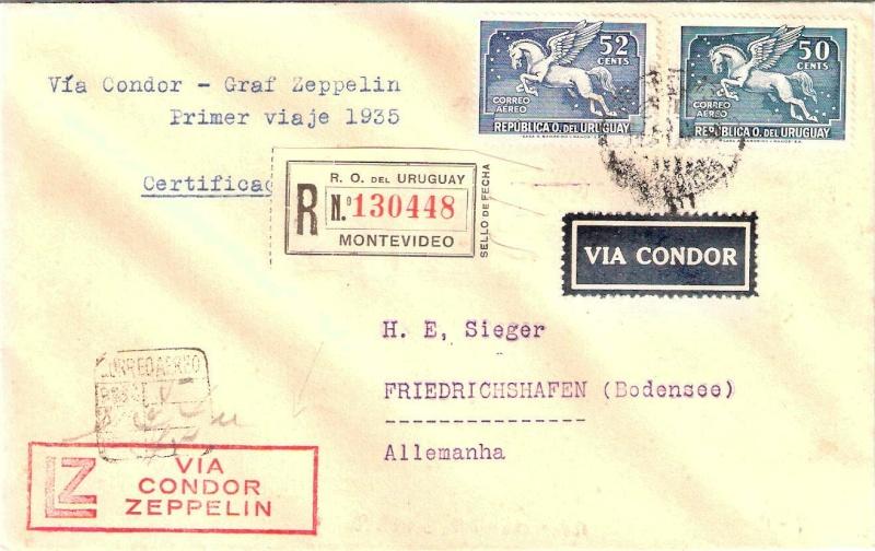 Zeppelinpost des LZ 127 - Seite 4 Urugua10