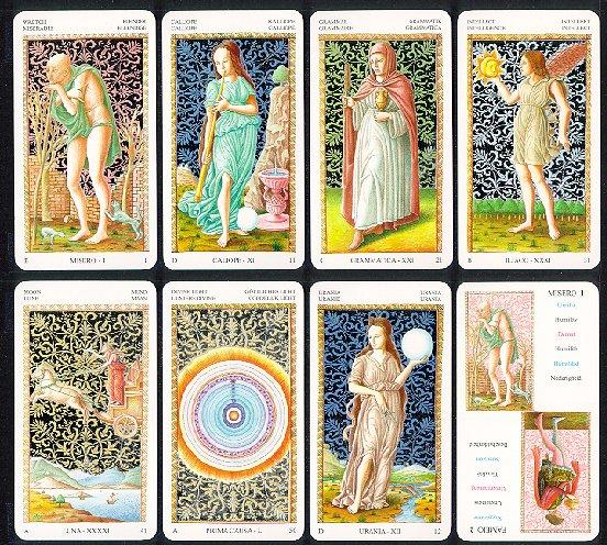 Tarot de Mantegna T-mant10