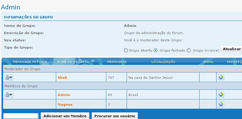 Aumente a segurança de seu fórum Admin12