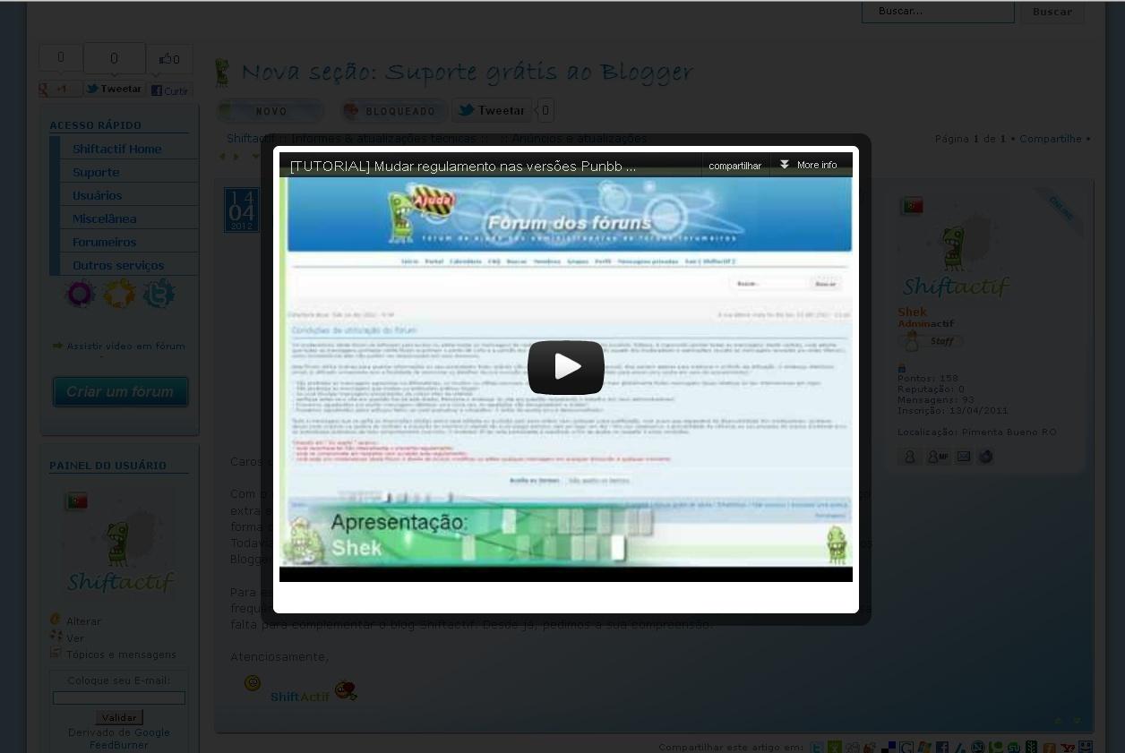 [TUTORIAL] Efeito vídeo em lightbox em vídeos Result11