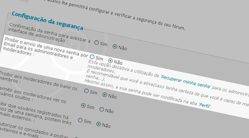 Aumente a segurança de seu fórum Segura10