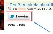 Twittar nos tópicos do fórum Twitta10