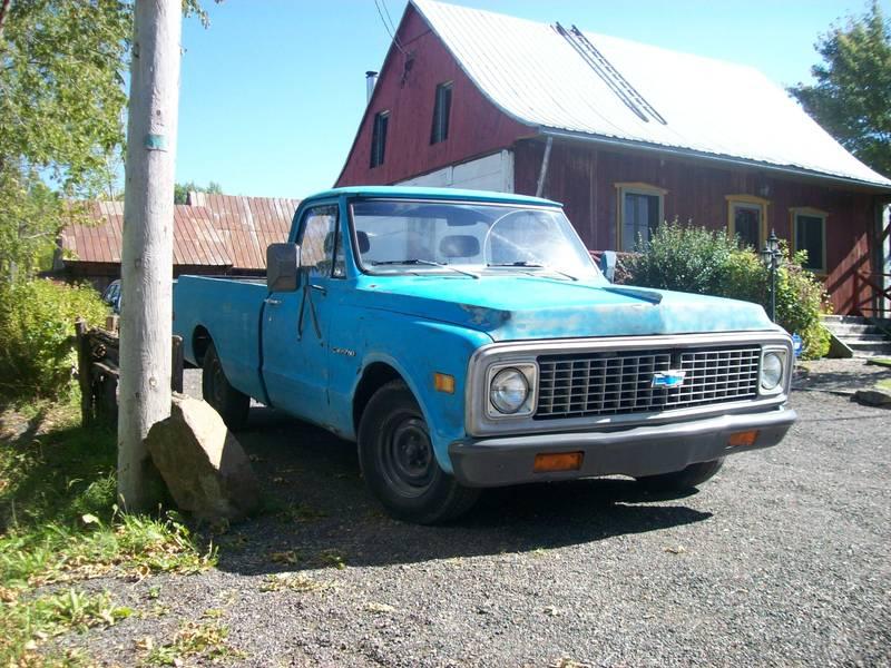 Cherche pickup GMC ou Chevrolet 1955 a 1972  - Page 2 33976a10