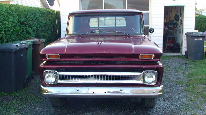 Cherche pickup GMC ou Chevrolet 1955 a 1972  - Page 3 69864910