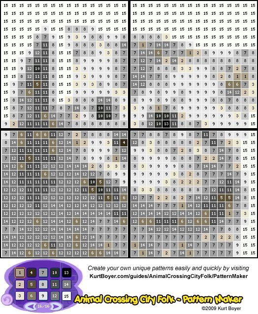 So könnt ihr ganz leicht wunderschöne Designs für ACLGTTC machen Patter11