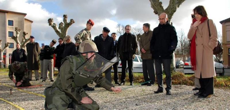 Relais Défense de la région Midi Pyrénées s'est déroulée au 17e RGP 2012_010