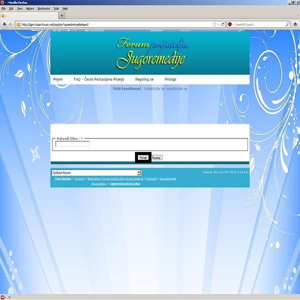 Kako da se registrujete na ovom forumu i postanete njegov član? 414