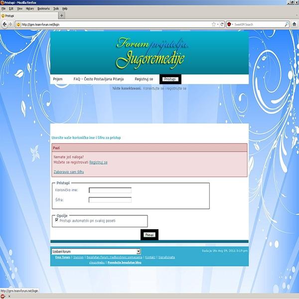 Kako da se registrujete na ovom forumu i postanete njegov član? 613