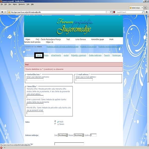 Kako da isključite newsletter-se i odgovore koje dobijate na Vašoj E-mail adresi svaki put kada neko komentariše na ovom forumu? Copy_o10