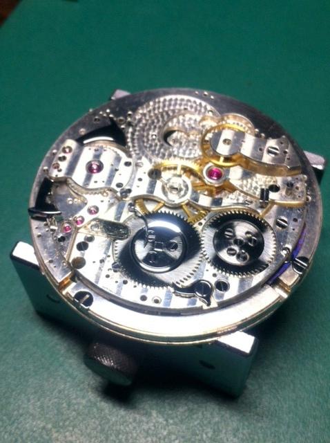 Association horlogère suisse : quarter repeater and chronograph 1610