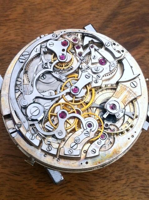 Association horlogère suisse : quarter repeater and chronograph 310