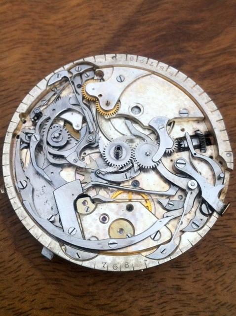 Association horlogère suisse : quarter repeater and chronograph 410