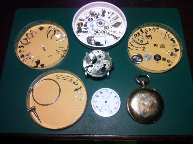 Association horlogère suisse : quarter repeater and chronograph 510