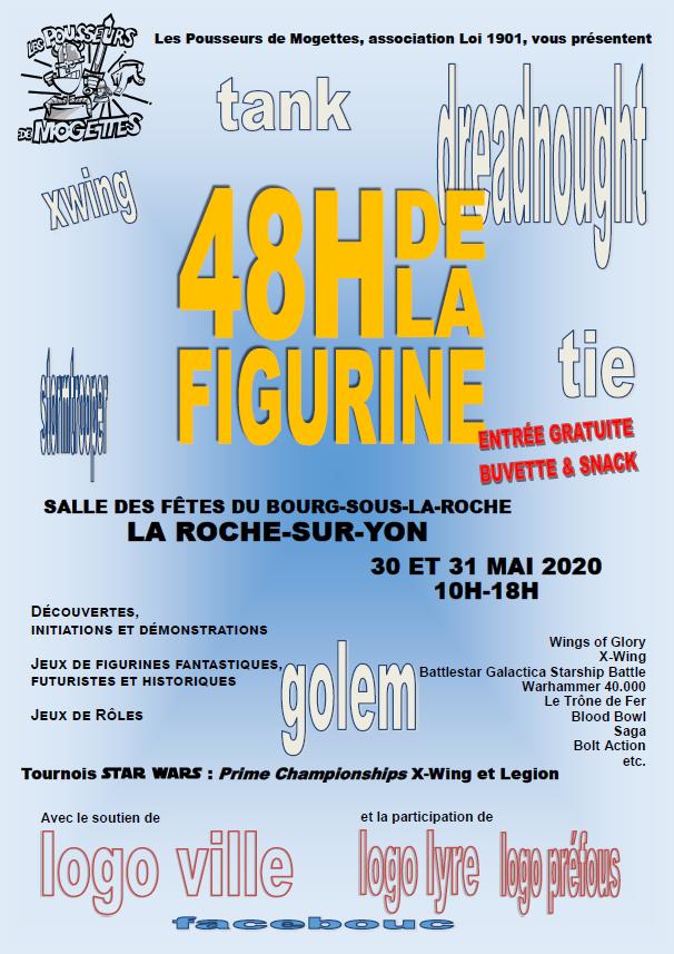 Les 48H de la figurine  les 30 et 31/05/2020 l'affiche Affich10
