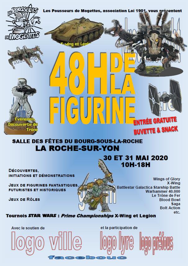 Les 48H de la figurine  les 30 et 31/05/2020 l'affiche Affich11