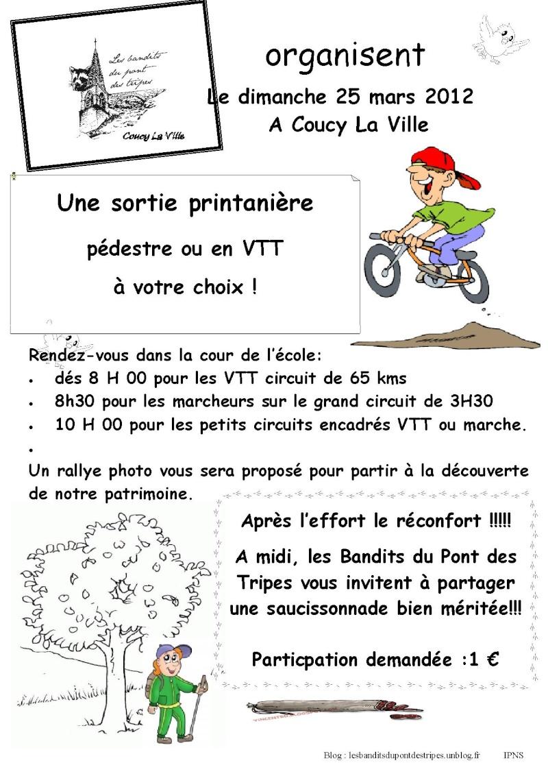 Sortie printaniére des Bandits du Pont des Tripes 25 mars Sortie13