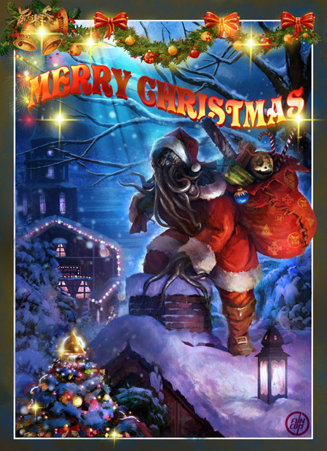 Christmas (Because I'm to lazy to spell out the other holidays, and don't want to spell solstice wrong) Cthulu10